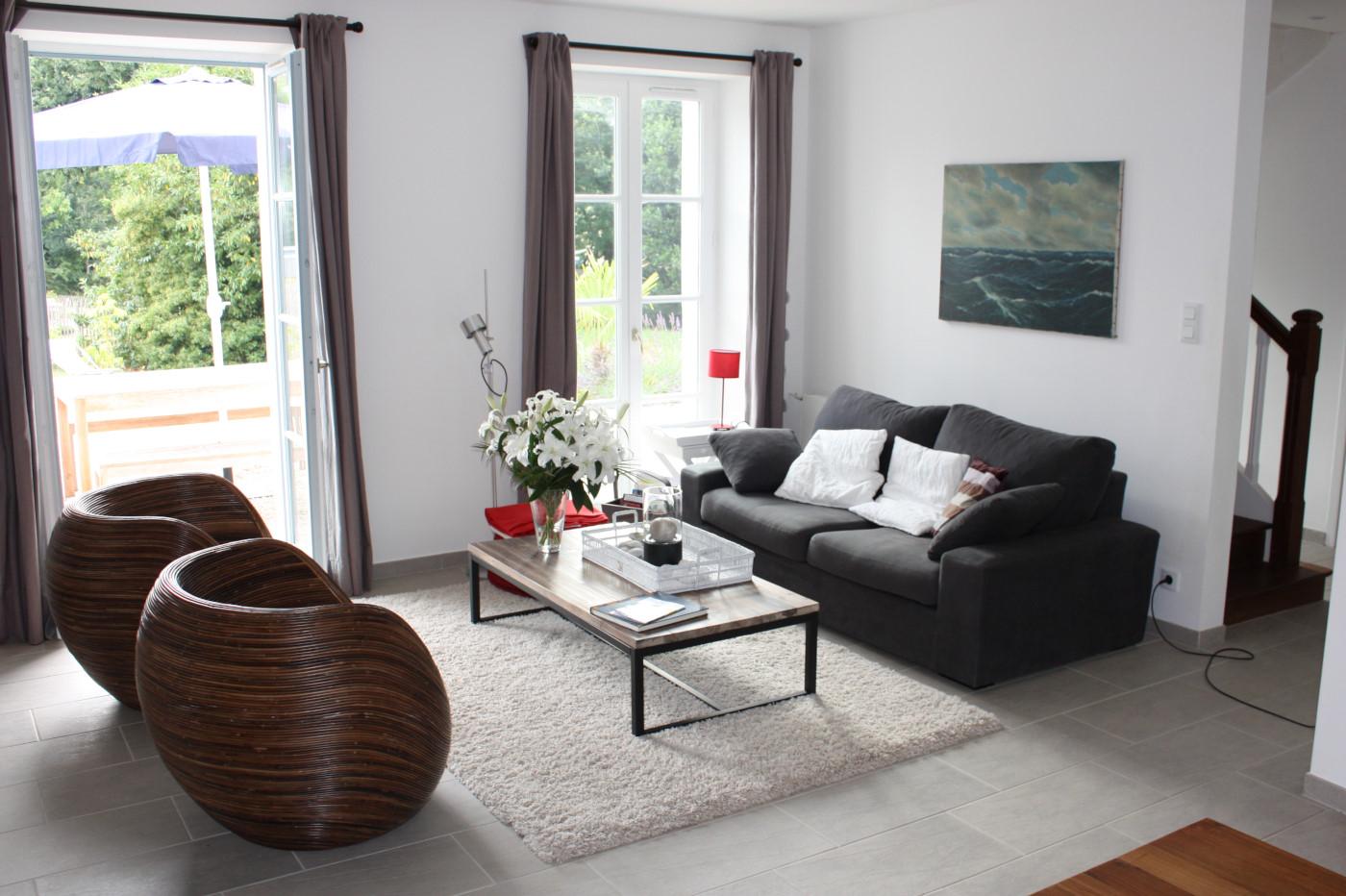 Sarzeau   Wohnzimmer / Küche